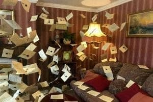 privet drive living room