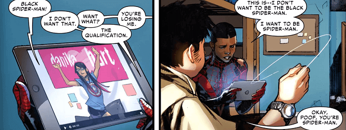 Into the Spider-Verse's Miles Morales as a Celebration of