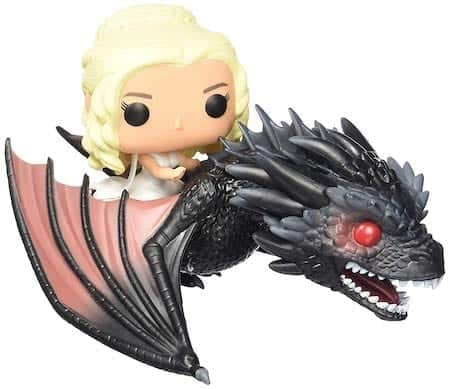 daenerys on drogon figures