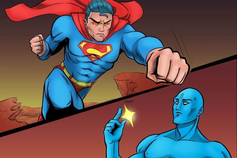 Who Would Win? Part One: Dr Manhattan vs Superman