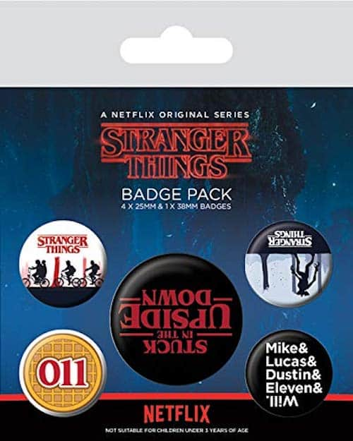 stranger things badges