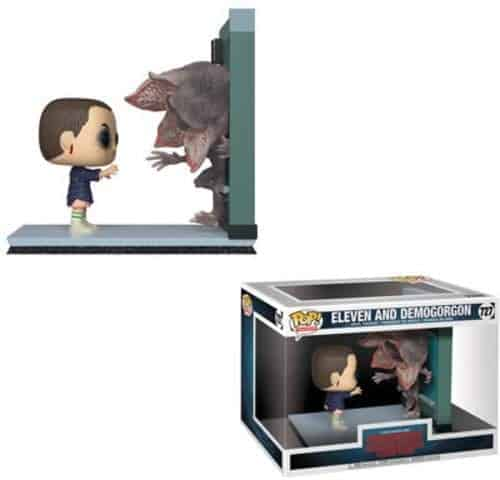 eleven and demogorgon vinyl pop