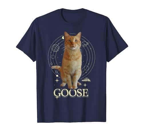 navy goose t-shirt