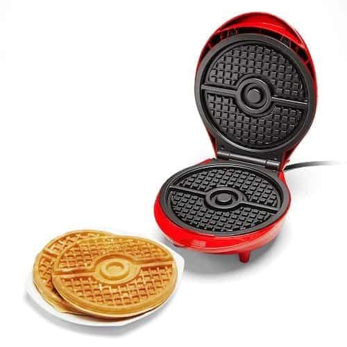 pokeball waffle maker