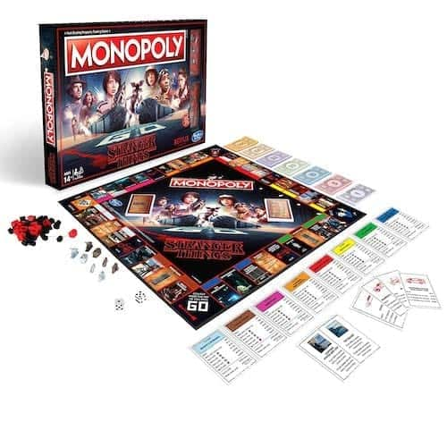 stranger things edition monopoly