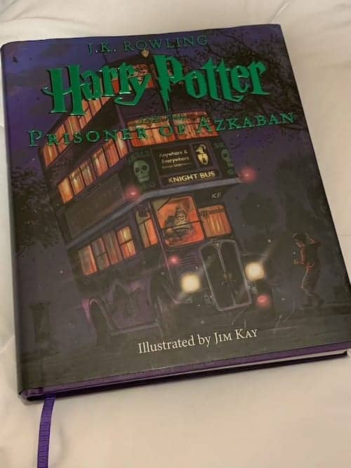 Harry Potter and the Prisoner of Azkaban Illustrated Book