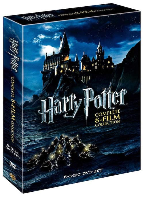 harry potter films dvds