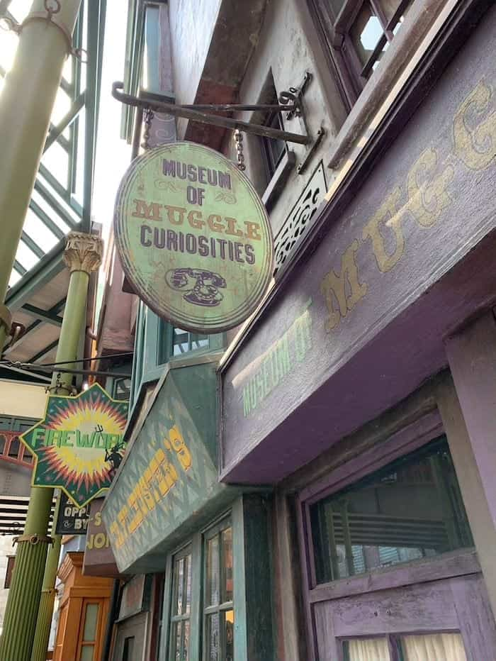 Museum of Muggle Curiosities universal studios