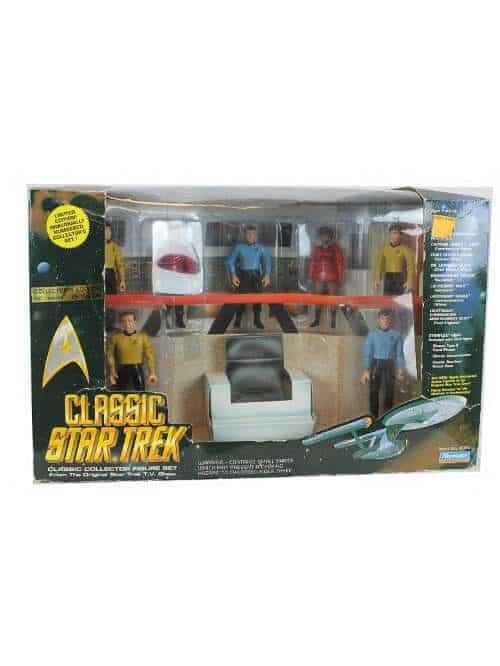 star trek bridge crew action figure set