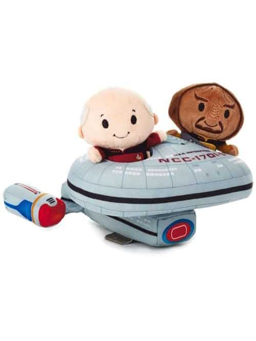 itty bittys picard and worf plushie