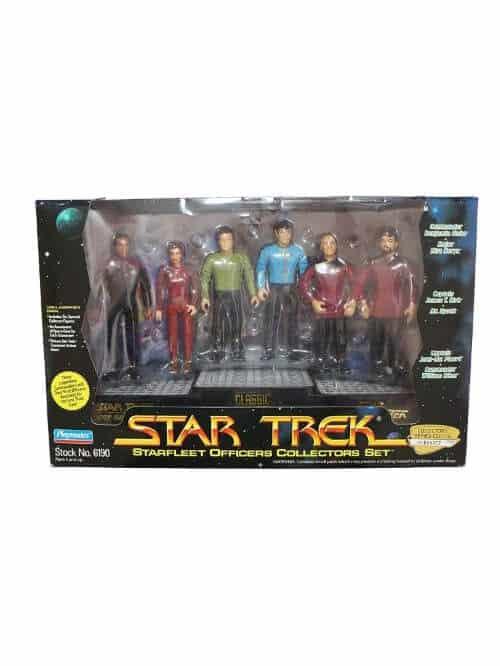 star trek starfleet officers collectors set