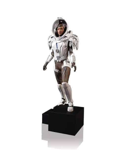 michael burnham discovery space suit statue