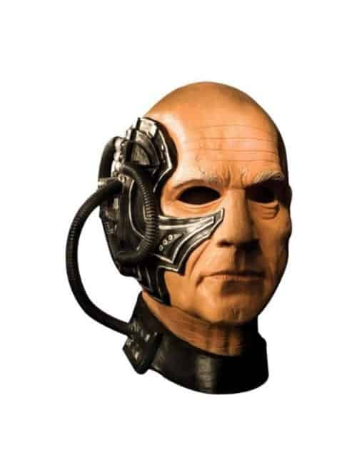 locutus of borg latex mask the next generation