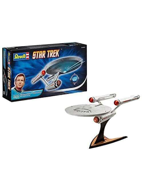 star trek tos enterprise ncc 1701 revell set