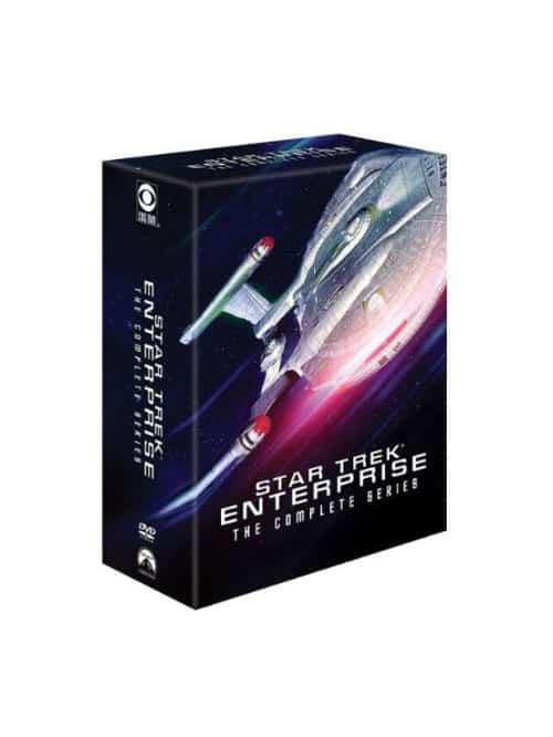 star trek enterprise complete series dvd