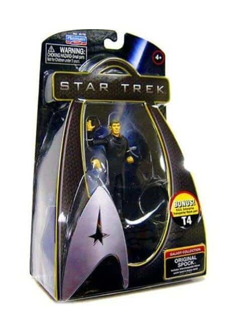 star trek galaxy collection original spock action figure
