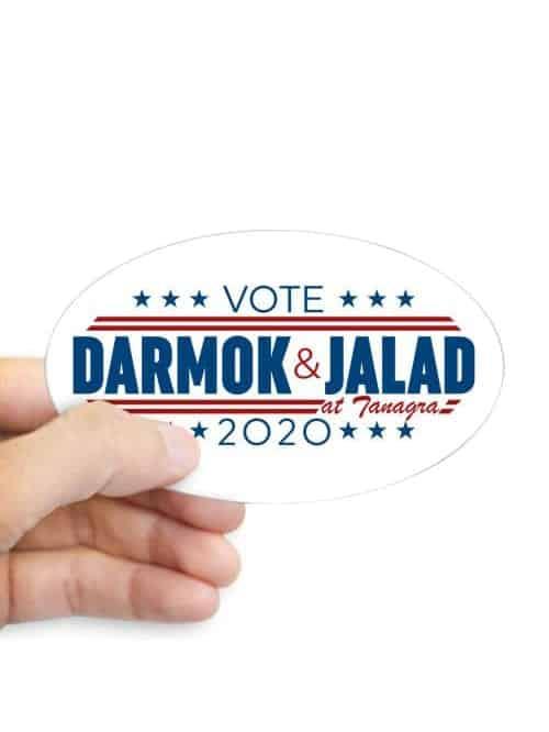 darmok and jalad at tanagra 2020 sticker