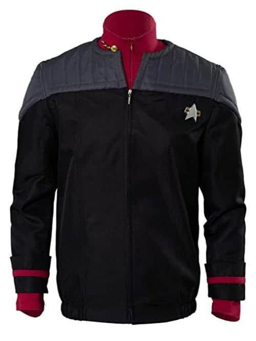 star trek jacket and undershirt