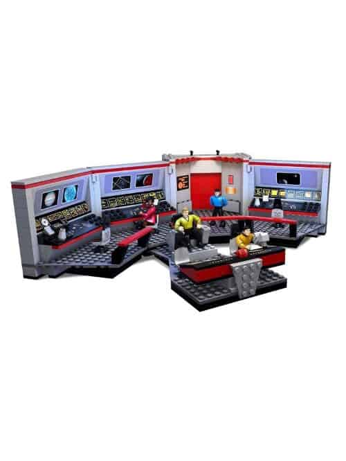 mega blocks star trek uss enterprise bridge construction set