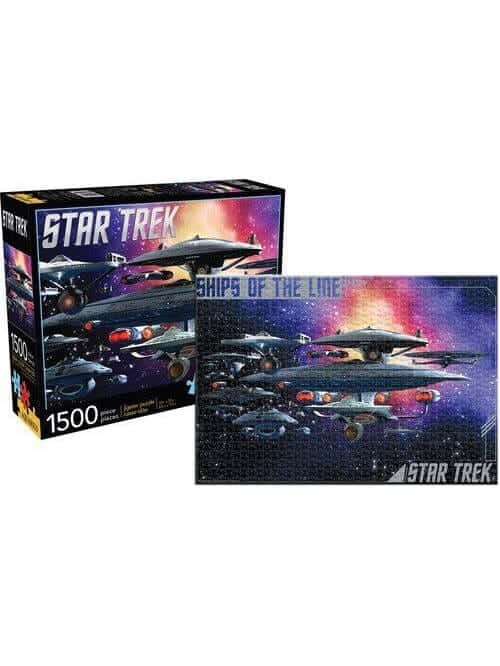 star trek federation ships puzzle