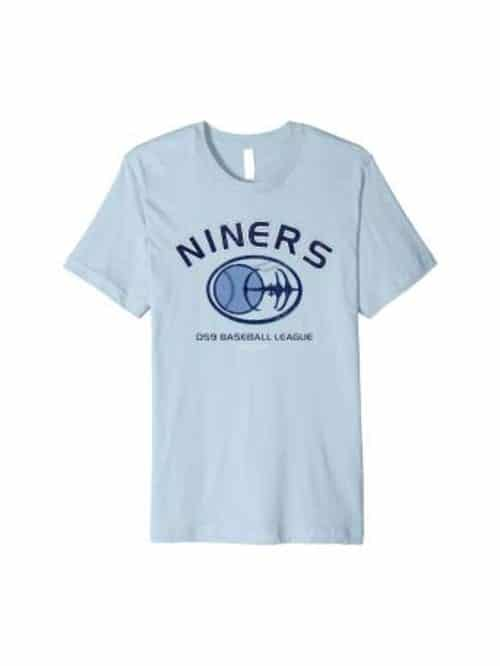 star trek ds9 baseball tshirt