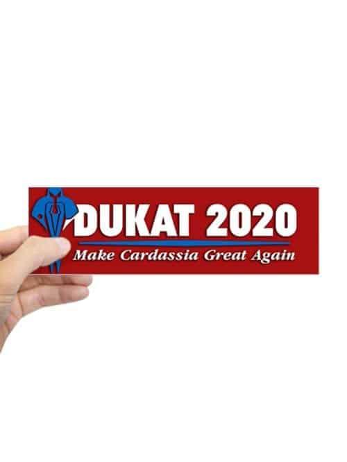Dukat 2020 sticker