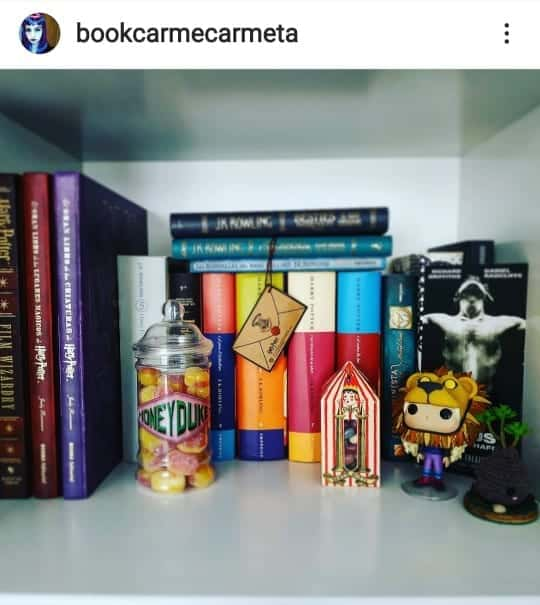 Harry Potter Collection - Bookcarmecarmeta 6
