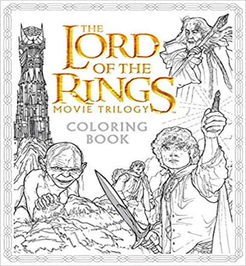 lord of the rings coloring book
