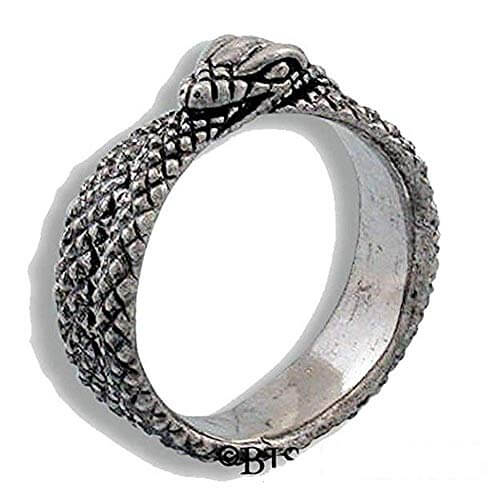 AES Sedai Great Serpent engagement Ring