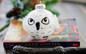 hedwig christmas ornament