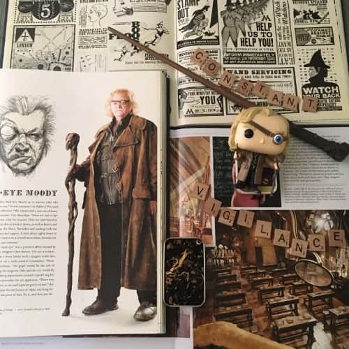 harry potter BTS books