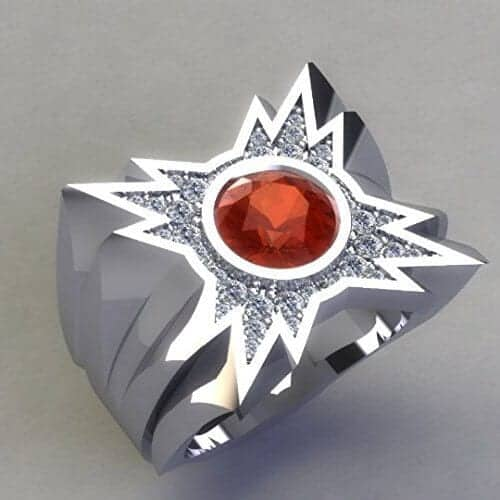 Star wars mens sith engagement ring