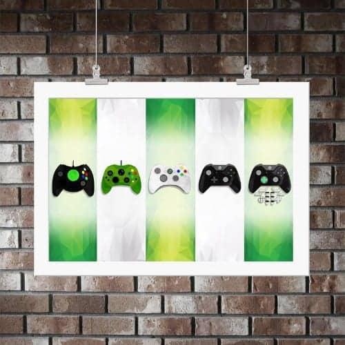 xbox controller prints