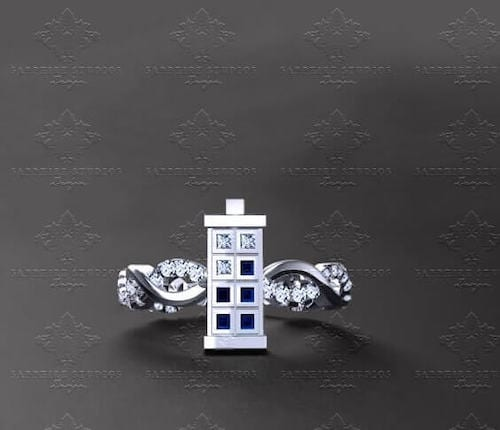 dr who engagement ring