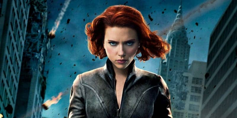 which marvel character are you black widow
