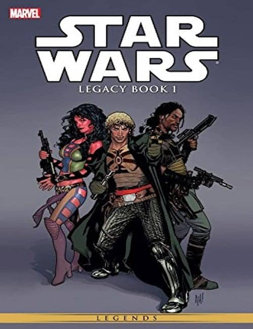 Star Wars- Legacy Vol. 1 comic