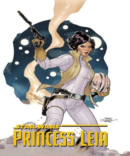 Star Wars- Princess Leia comic
