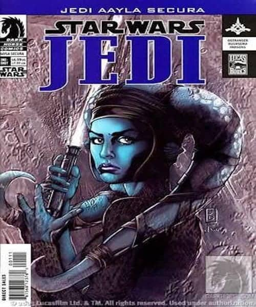 Star Wars Jedi Aayla Secura 1 comic