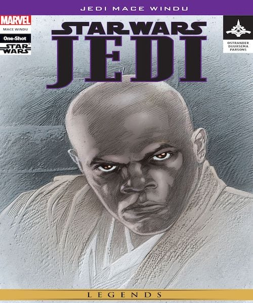 Star Wars- Jedi - Mace Windu comic