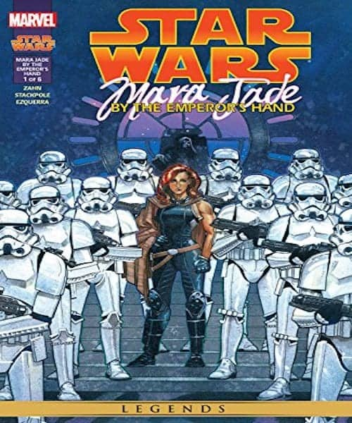 Star Wars- Mara Jade comic