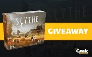 scythe board game giveaway
