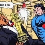 trump vs superman comic