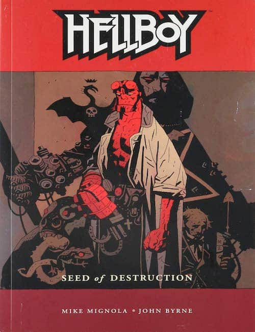 hellboy comic book
