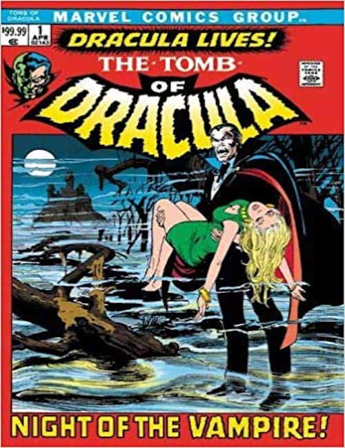 tomb of dracula comic book
